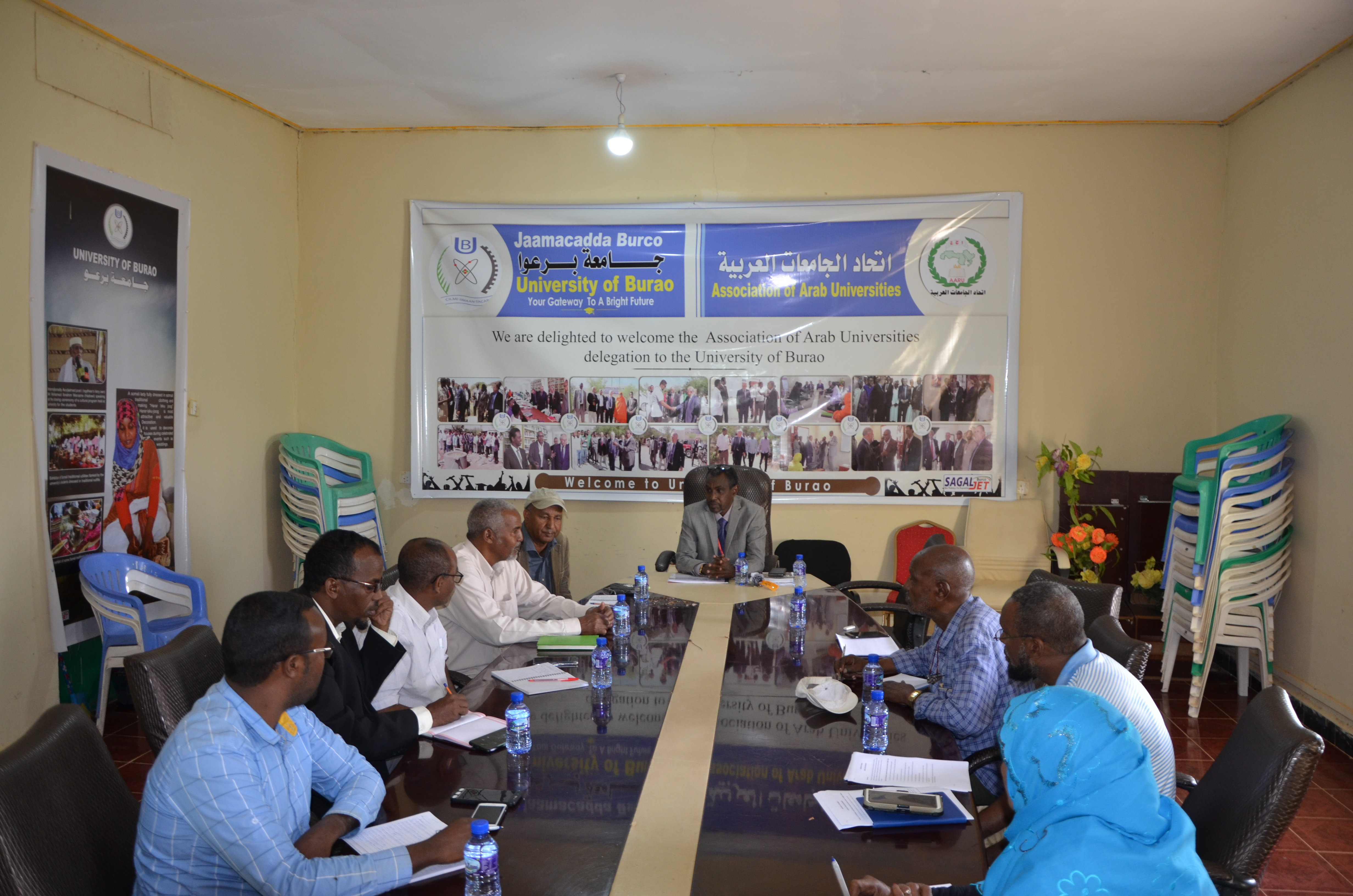 Vice chancellor Meeting with SDF Team